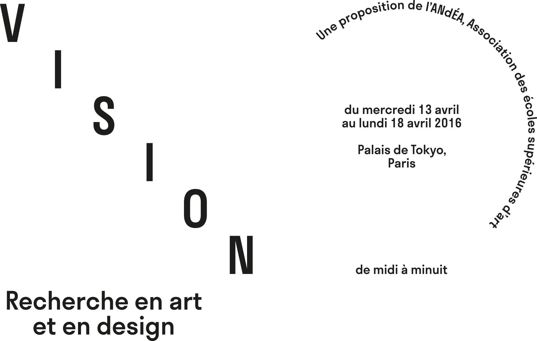 vision recherche en art et en design